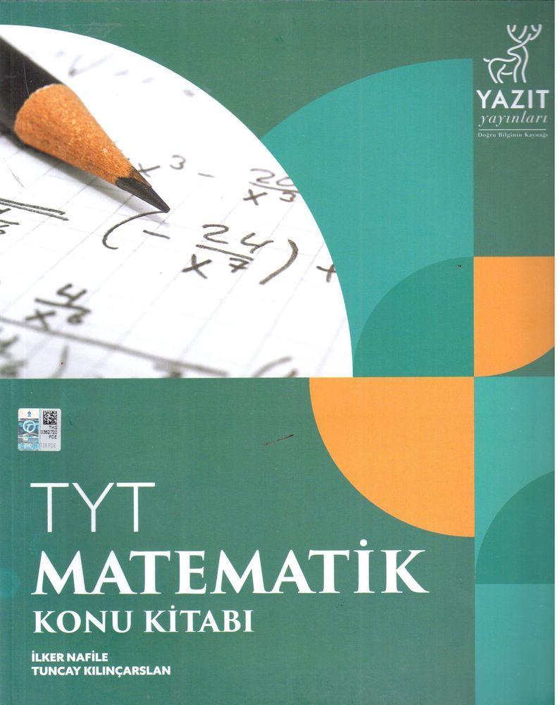 Yazıt Yayınları TYT Matematik Konu Kitabı