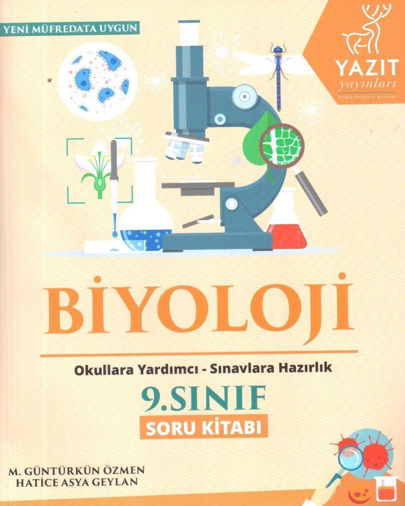 Yazıt Yayınları 9. Sınıf Biyoloji Soru Kitabı