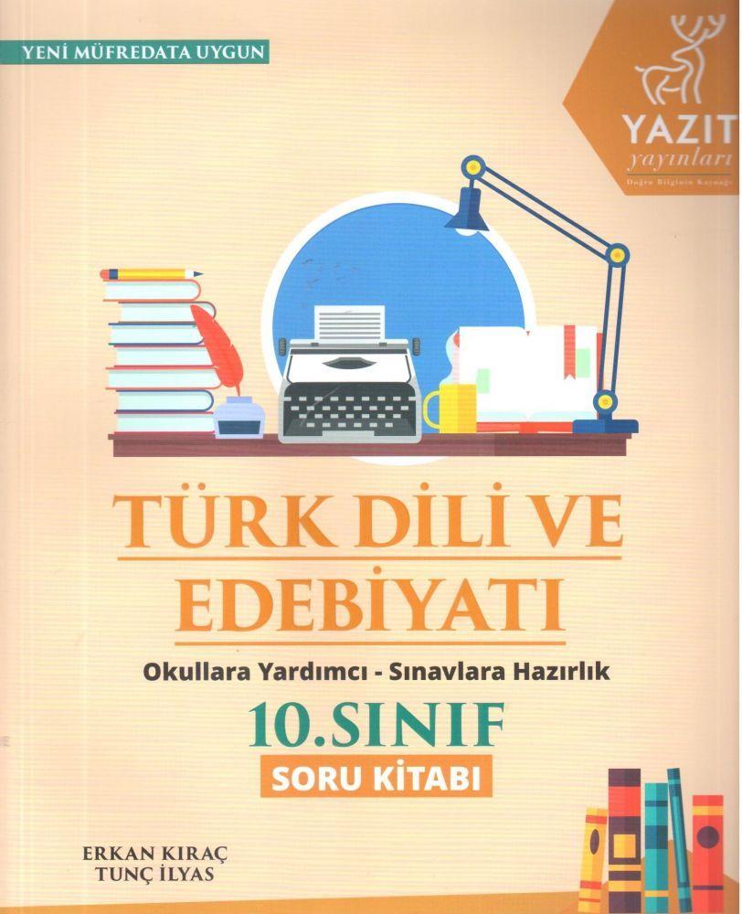 Yazıt Yayınları 10. Sınıf Türk Dili ve Edebiyatı Soru Kitabı