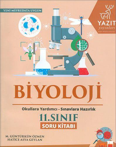 Yazıt Yayınları 11. Sınıf Biyoloji Soru Kitabı