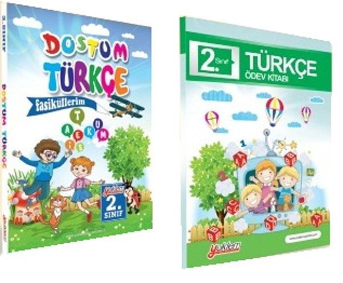 Yüklem Yayınları 2. Sınıf Dostum Türkçe Seti