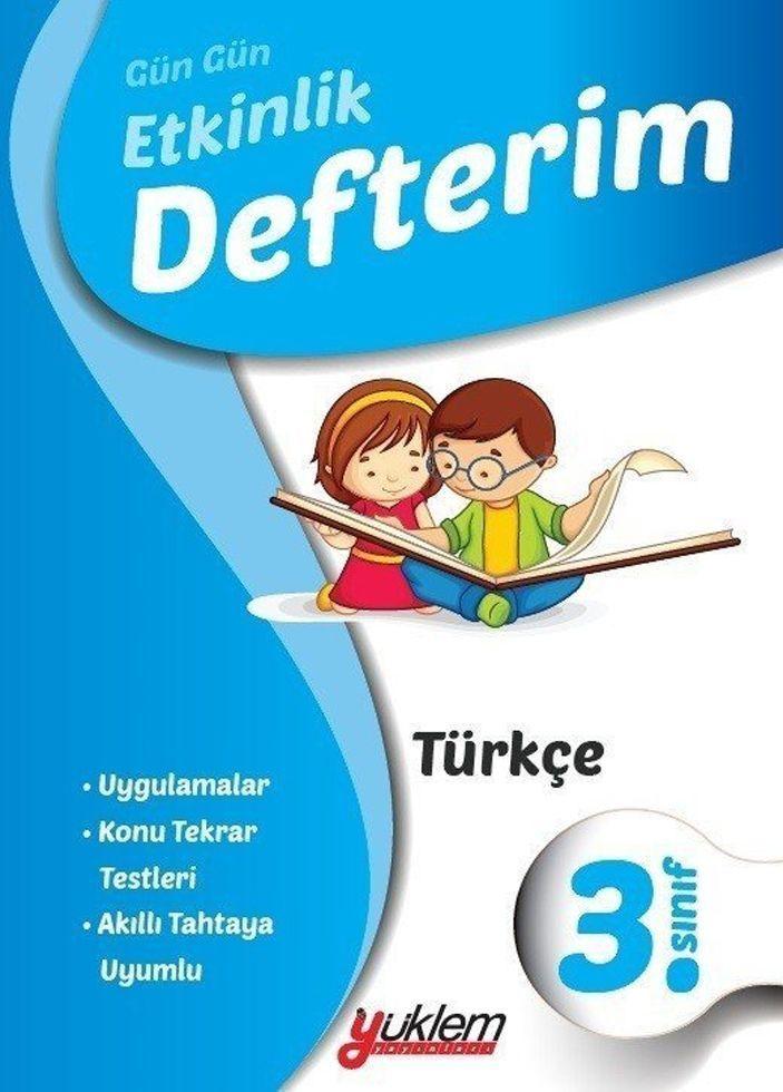 Yüklem Yayınları 3. Sınıf Gün Gün Etkinlik Türkçe Defterim