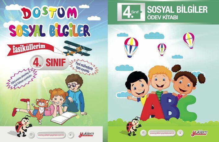 Yüklem Yayınları 4. Sınıf Dostum Sosyal Bilgiler Seti