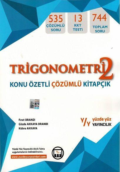 Yüzde Yüz Yayınları Trigonometri 2