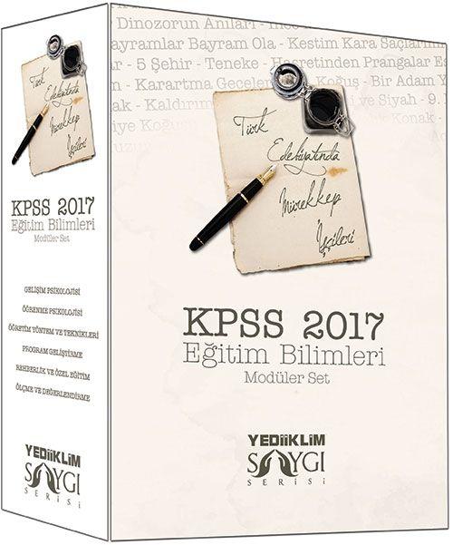Yediiklim 2017 KPSS Eğitim Bilimleri Konu Anlatımlı Modüler Set Saygı Serisi Türk Edebiyatında Mürekkep?İşçileri