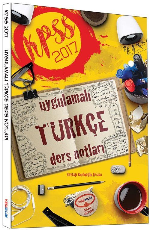 Yediiklim 2017 KPSS Uygulamalı Türkçe Ders Notları