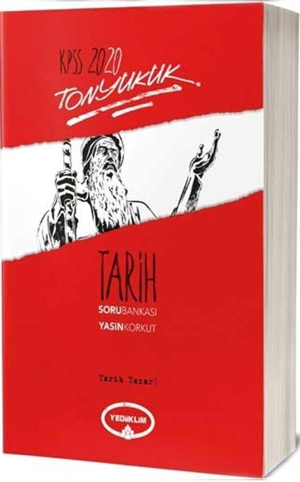 Yediiklim Yayınları 2020 KPSS Tarih Tonyukuk Soru Bankası