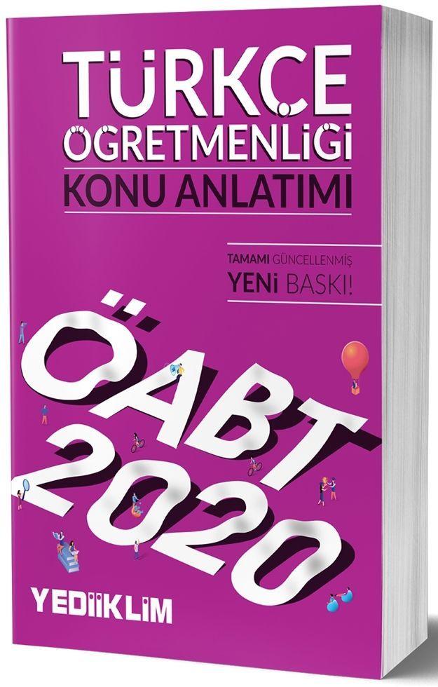 Yediiklim Yayınları 2020 KPSS ÖABT Türkçe Öğretmenliği Konu Anlatımı