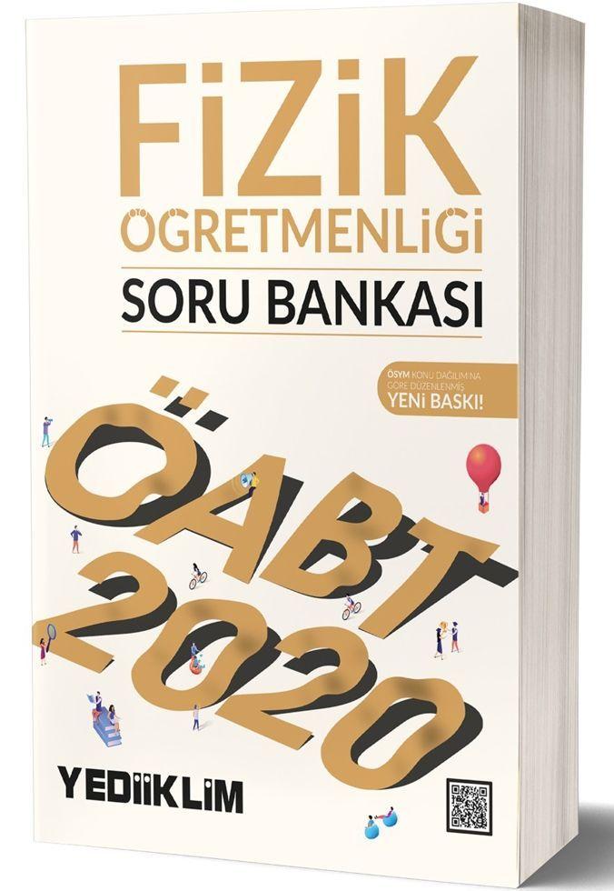 Yediiklim Yayınları 2020 ÖABT Fizik Öğretmenliği Soru Bankası