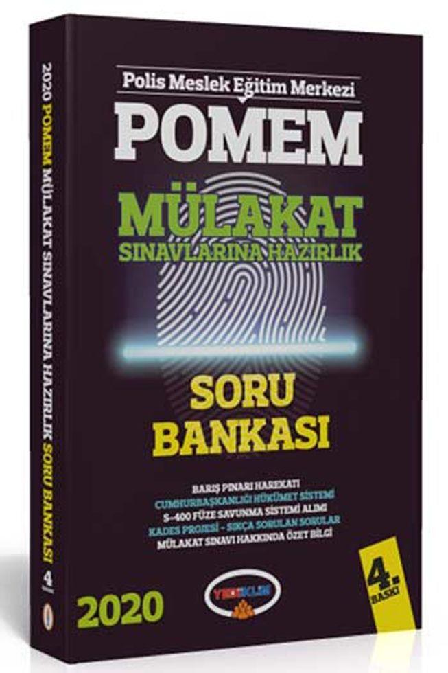 Yediiklim Yayınları 2020 POMEM Mülakat Sınavlarına Hazırlık Soru Bankası 4. Baskı
