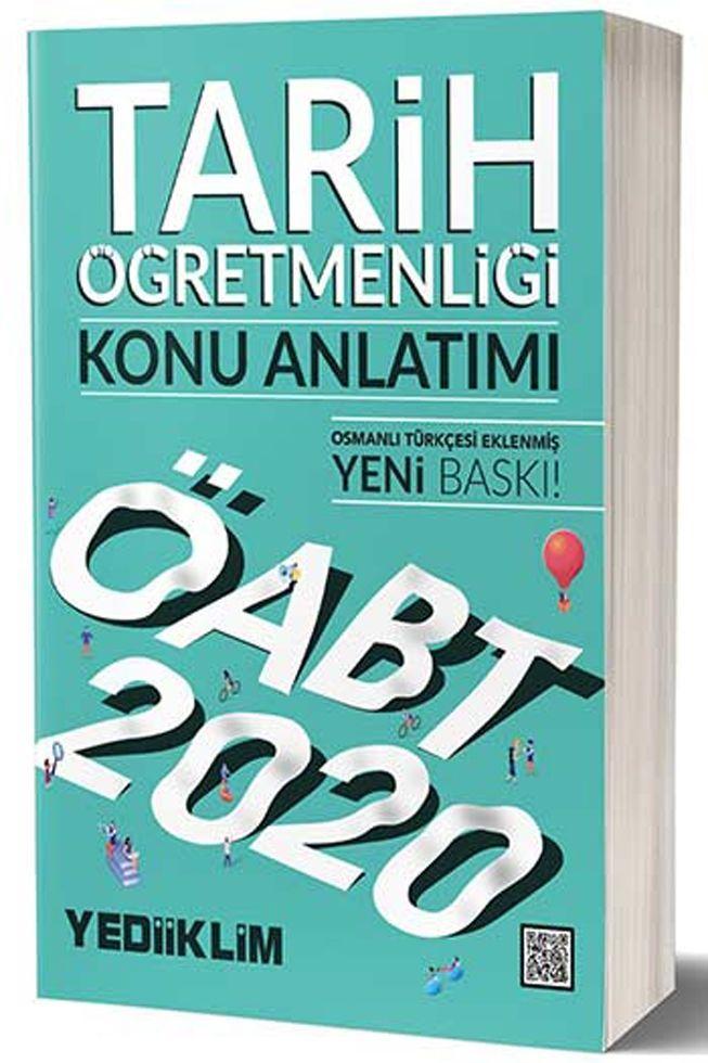 Yediiklim Yayınları 2020 ÖABT Tarih Öğretmenliği Konu Anlatımı