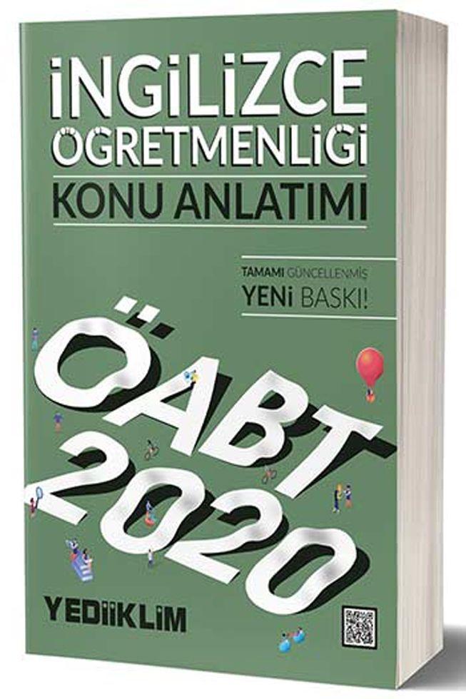 Yediiklim Yayınları 2020 ÖABT İngilizce Öğretmenliği Konu Anlatımı