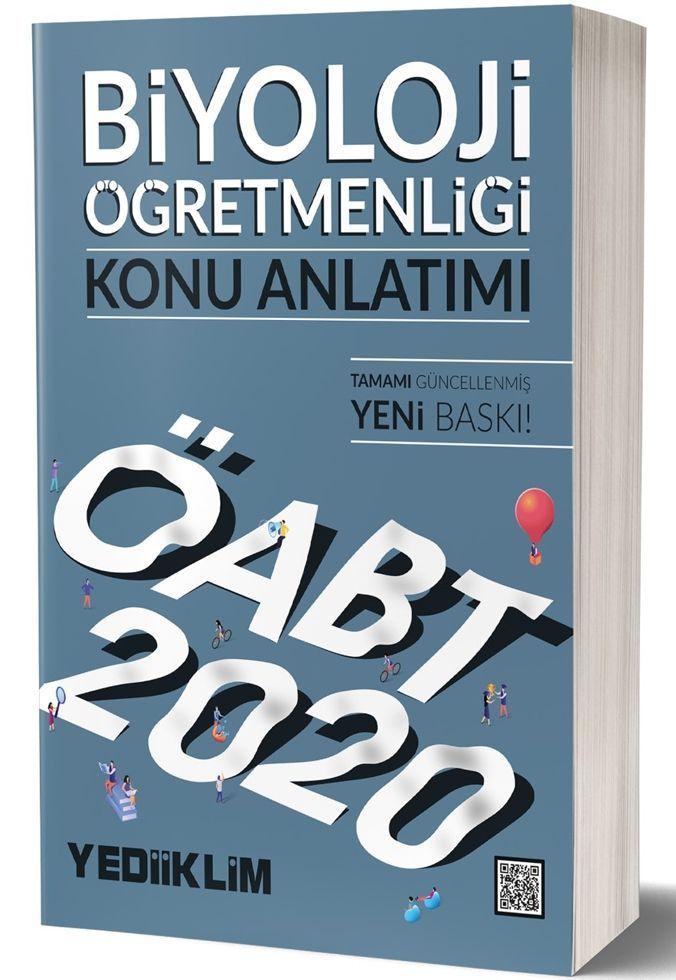 Yediiklim Yayınları 2020 KPSS ÖABT Biyoloji Öğretmenliği Konu Anlatımı