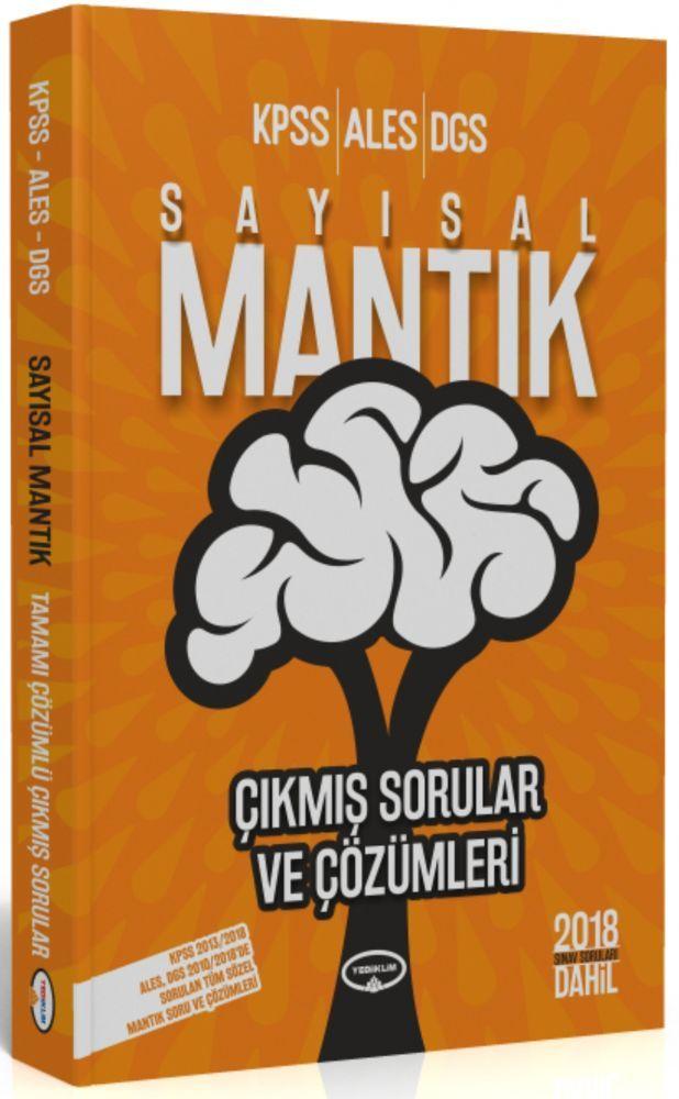 Yediiklim Yayınları KPSS ALES DGS Sayısal Mantık Çıkmış Sorular ve Çözümleri