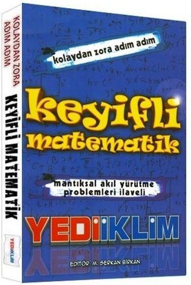 Yediiklim Yayınları KPSS Keyifli Matematik Konu Anlatımlı