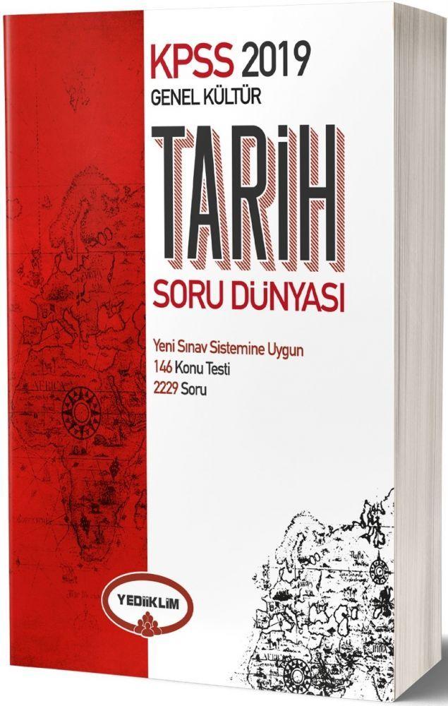 Yediiklim Yayınları 2019 KPSS Tarih Soru Dünyası