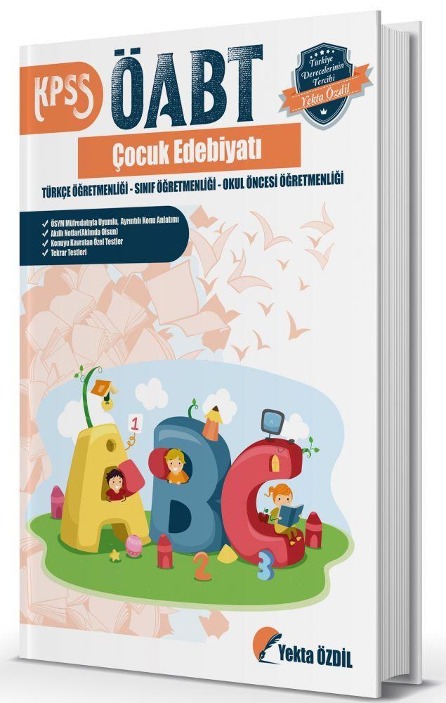 Yekta Özdil 2019 ÖABT Çocuk Edebiyatı Konu Anlatımlı Soru Bankası