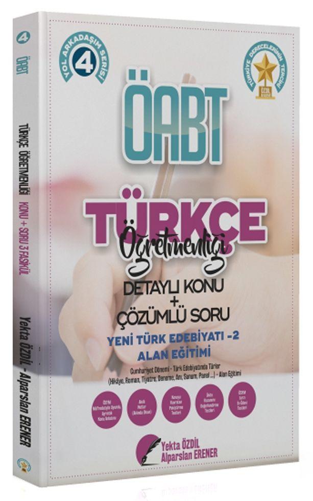Yekta Özdil 2020 ÖABT Türkçe Öğretmenliği 4 Kitap Konu Anlatımlı Soru Bankası