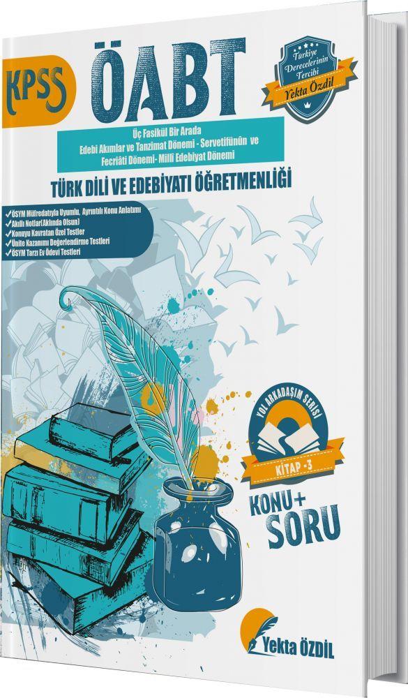 Yekta Özdil ÖABT Edebiyat Öğretmenliği Yol Arkadaşım Serisi 3