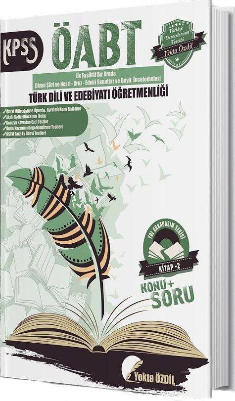 Yekta Özdil ÖABT Türk Dili ve Edebiyatı Öğretmenliği Yol Arkadaşım Serisi 2. Kitap
