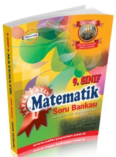 Zafer Yayınları 9. Sınıf Matematik Soru Bankası