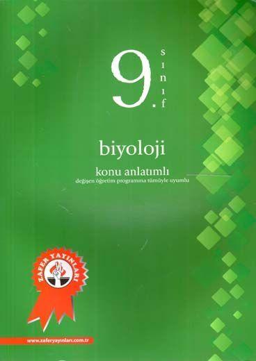 Zafer Yayınları 9. Sınıf Biyoloji Konu Anlatımlı