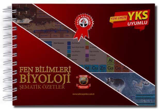 Zafer Yayınları Fen Bilimleri Biyoloji Şematik Özetler
