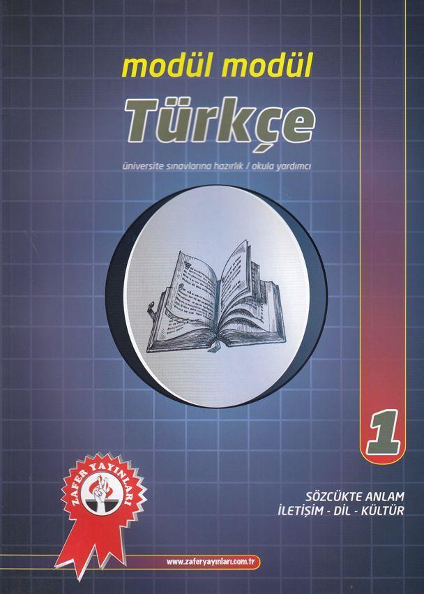 Zafer Yayınları Modül Modül Türkçe 1