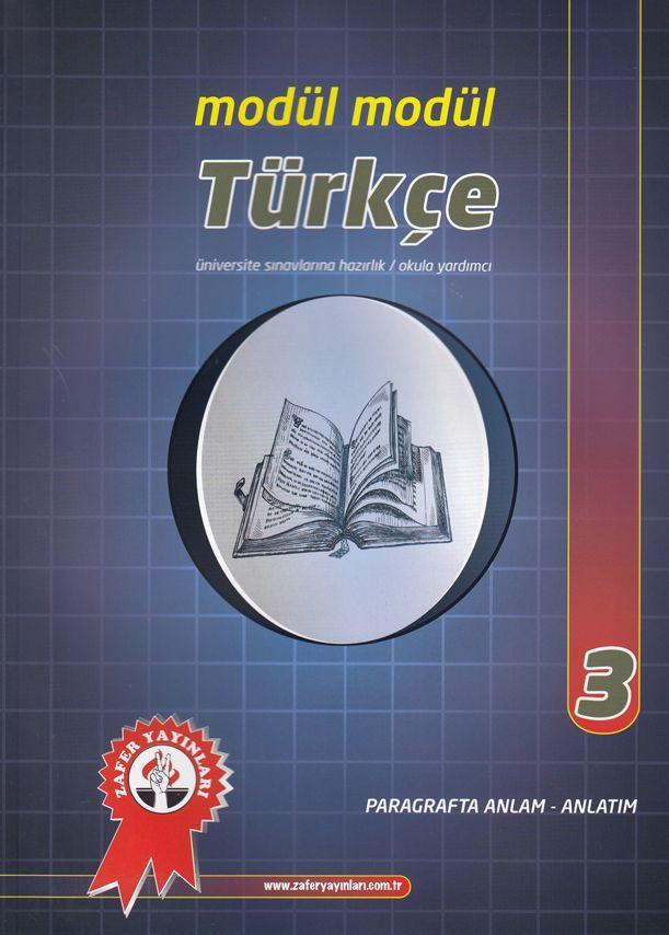 Zafer Yayınları Modül Modül Türkçe 3