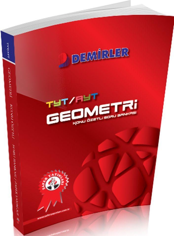 Zafer Yayınları TYT AYT Geometri Demirler Konu Özetli Soru Bankası