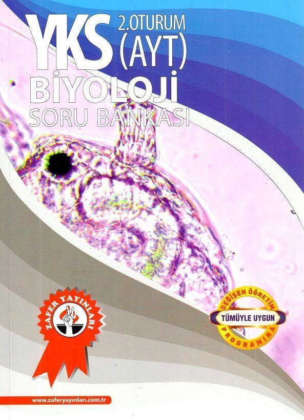 Zafer Yayınları YKS 2. Oturum AYT Biyoloji Soru Bankası