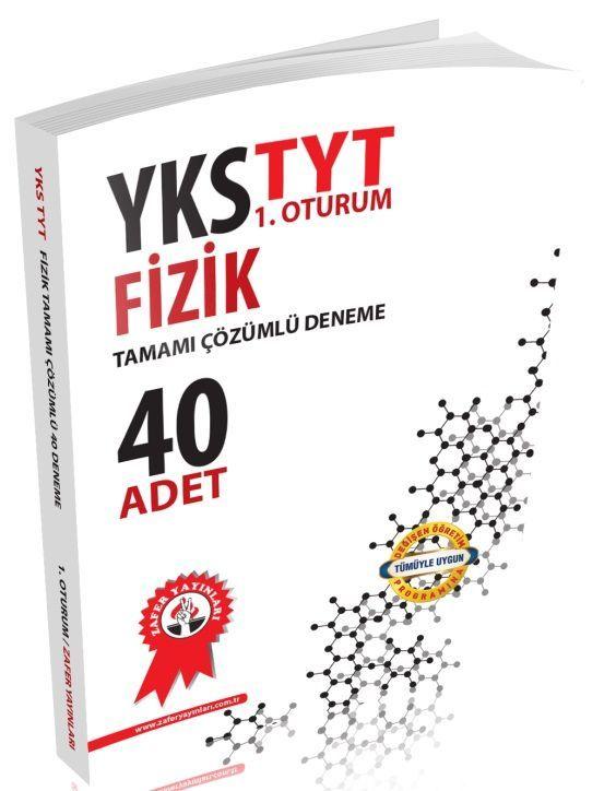 Zafer Yayınları YKS 1. Oturum TYT Fizik Tamamı Çözümlü 40 Deneme