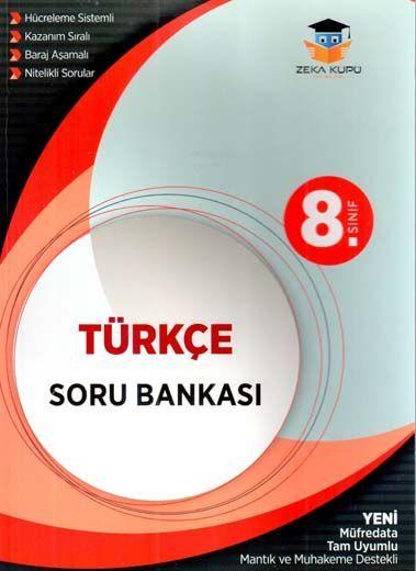 Zeka Küpü Yayınları 8. Sınıf Türkçe Soru Bankası