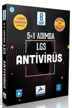 2020 PRF Yayınları 8. Sınıf LGS 1. Dönem 5 + 1 Adımda Antivirüs Deneme