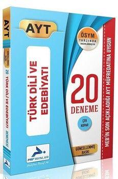 2020 PRF Yayınları AYT Türk Dili ve Edebiyatı Özel 20 Deneme