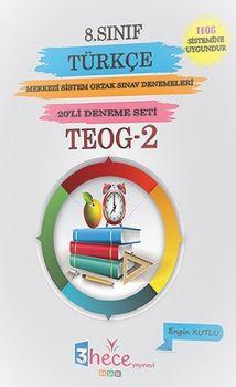 3 Hece Yayınevi 8. Sınıf TEOG 2 Türkçe 10 Deneme