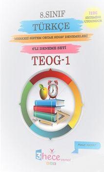 3 Hece Yayınevi 8. Sınıf TEOG 1 Türkçe 6 Deneme