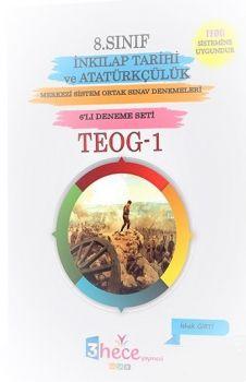 3 Hece Yayınevi 8. Sınıf TEOG 1 İnkılap Tarihi ve Atatürkçülük 6 Deneme