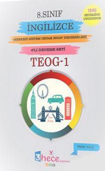3 Hece Yayınevi 8. Sınıf TEOG 1 İngilizce 6 Deneme
