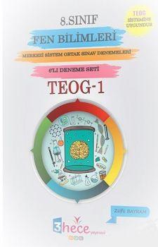 3 Hece Yayınevi 8. Sınıf TEOG 1 Fen Bilimleri 6 Deneme