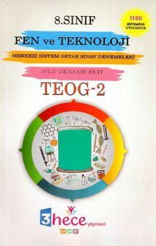 3 Hece Yayınevi 8. Sınıf TEOG 2 Fen ve Teknoloji 10 Deneme