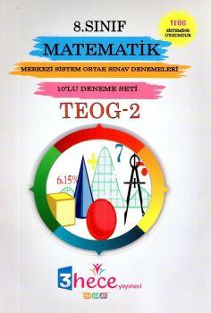 3 Hece Yayınevi 8. Sınıf TEOG 2 Matematik 10 Deneme