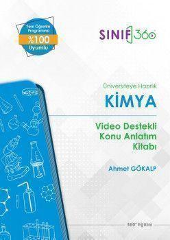 360 Eğitim Yayınları Üniversiteye Hazırlık Kimya Video Destekli Konu Anlatım Kitabı