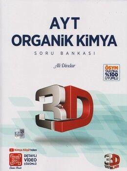 3D Yayınları AYT Organik Kimya Soru Bankası