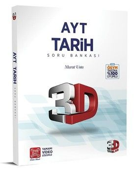 3D Yayınları AYT Tarih Soru Bankası