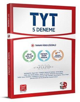 3D Yayınları TYT 5 Deneme Tamamı Video Çözümlü