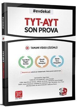 3D Yayınları TYT AYT Son Prova Denemesi Tamamı Video Çözümlü
