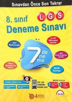 4 Adım Yayıncılık 8. Sınıf LGS 7 li Deneme Sınavı