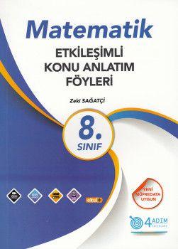 4 Adım Yayıncılık 8. Sınıf Matematik Etkileşimli Konu Anlatım Föyleri