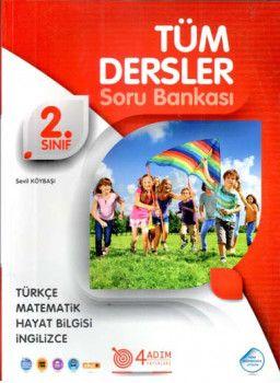 4 Adım Yayıncılık 2. Sınıf Tüm Dersler Soru Bankası